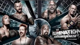 WWE-Elimination Chamber 2013-Highlights (HD)