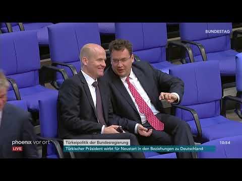 Bundestagsdebatte zur politischen Lage in der Türkei am 27.09.18