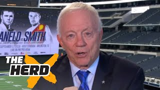 Jerry Jones explains why Roger Goodell is doing a 'great job' - 'The Herd' by Colin Cowherd