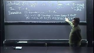 Lecture 30: Chi-Square, Student-t, Multivariate Normal | Statistics 110