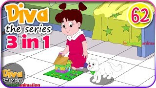 Video Seri Diva 3 in 1 | Kompilasi 3 Episode ~ Bagian 62 | Diva The Series Official MP3, 3GP, MP4, WEBM, AVI, FLV Juni 2019