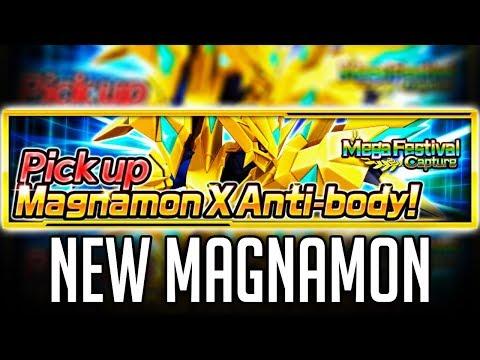 The MVP, MAGNAMON X! | Digimon Links/Linkz SUMMONS! (видео)