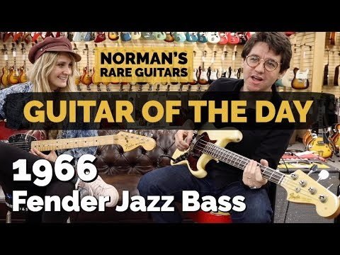 Guitar of the Day: 1966 Fender Jazz Bass | Norman's Rare Guitars