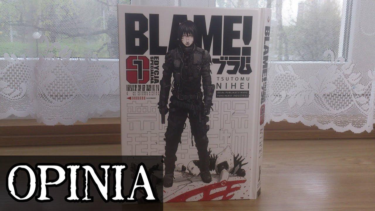Pierwszy tom Blame! - Czyli cyberpunkowy cud, miód i orzeszki