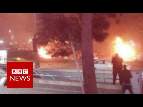 Turkish capital Ankara hit by huge explosion - BBC News