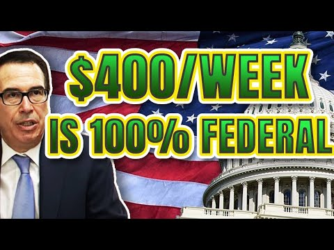 ENTIRE $400/WEEK PAID FOR BY THE FEDERAL GOVERNMENT   FUTURE OF SOCIAL SECURITY & MEDICARE