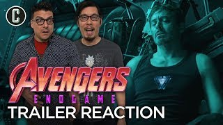 Avengers Endgame Trailer Reaction and Review by Collider