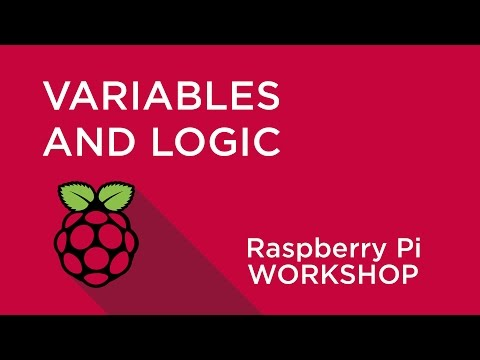 Raspberry Pi Workshop - Chapter 3 - Variables And Decisions