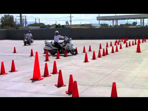 *Directors Commentary* Fast Honda ST1300 Police Bike in Competition