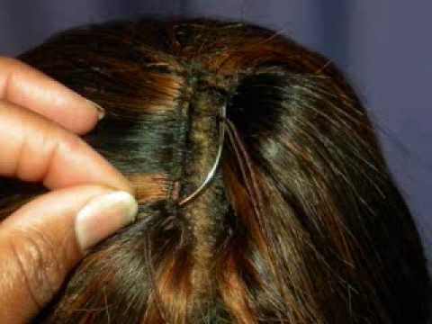 SEW IN HAIR STEP BY STEP