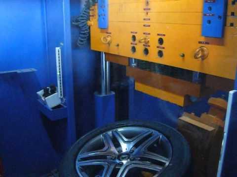 Тест на удар спицы автомобильного диска WSP Italy W766 NERO (Мерседес)