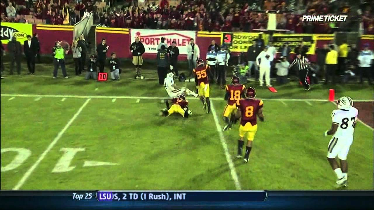 TJ Mcdonald vs UCLA /Oregon