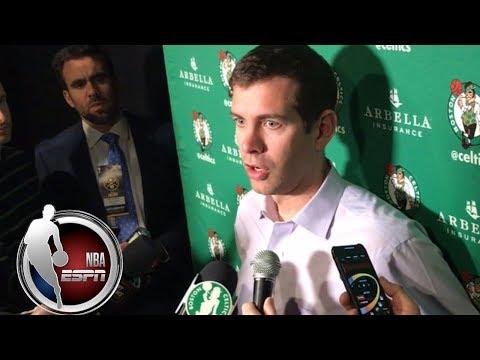Video: Brad Stevens: Jamal Murray 'deserves credit' for 48 points vs. Celtics   NBA on ESPN