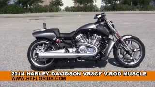 4. Used 2014 Harley Davidson V-Rod Muscle Motorcycles for sale