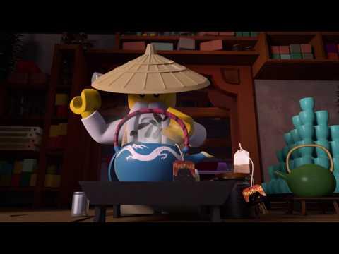 Fjernbetjente Zane - LEGO NINJAGO - Wus teer Episode 9