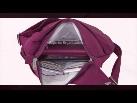 Travelon Anti-Theft Classic Light Drape Front Shoulder Bag - eBags.com