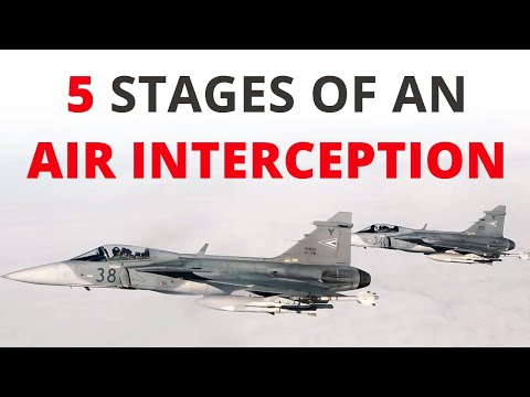 How does an air interception work?