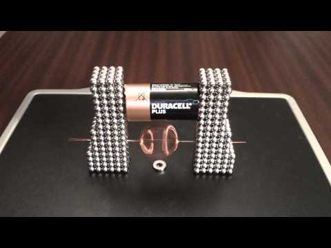New Buckyballs Electronic Motor.