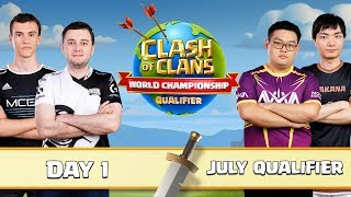 World Championship - July Qualifier - Day 1 - Clash of Clans