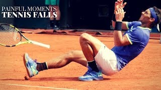Compilation Of Tennis Falls