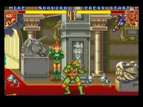 teenage mutant ninja turtles tournament fighters nes moves list