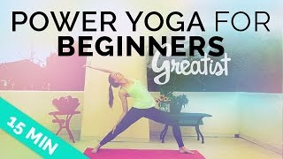 Video Power Yoga for Beginners | Greatist Yoga | Intro to Power Yoga | Beginner Vinyasa Yoga Sequence MP3, 3GP, MP4, WEBM, AVI, FLV Maret 2018