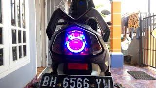 Video Projie in Stoplamp or Yamaha Mio M3 brake lights | M.R.S - MotoVlog MP3, 3GP, MP4, WEBM, AVI, FLV November 2018