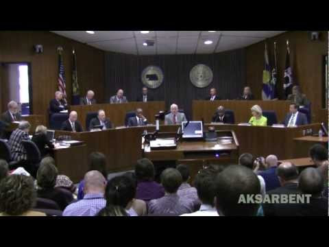 Omaha City council passes LGBT ordinance 4-3 on 2nd try, March 13, 2012 Video