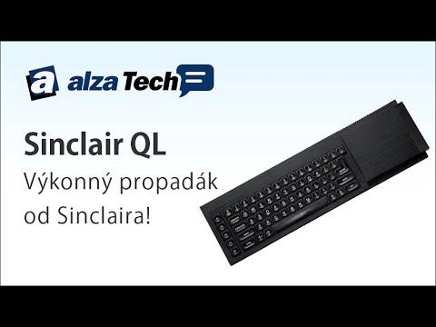 Alza Muzeum: Sinclair QL, revoluční propadák - AlzaTech #185