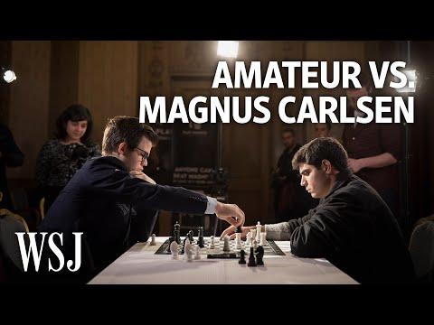 When an Amateur Challenges a \u200bChess Grandmaster (видео)