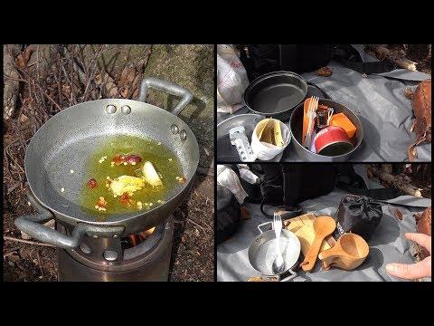 Cucina outdoor | Set da escursione VS set bushcraft