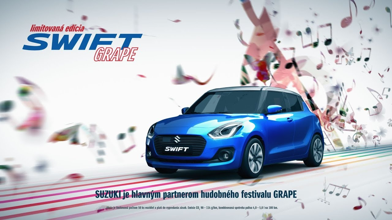 3d cgi Tv commercial - Suzuki Swift