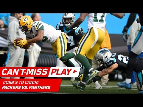 Video: Rodgers Connects w/ Cobb While Falling & Cobb Cuts In for a TD! | Can't-Miss Play | NFL Wk 15