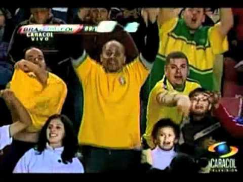 Colombia 0 Brasil  2