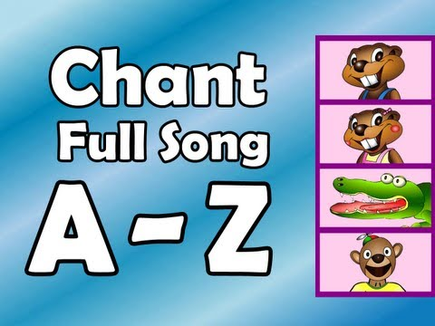 alphabet chant full song