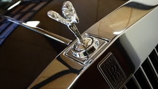 Polishing a Rolls Royce Phantom is something that should be done with some serious commitment. Des takes his job seriously...