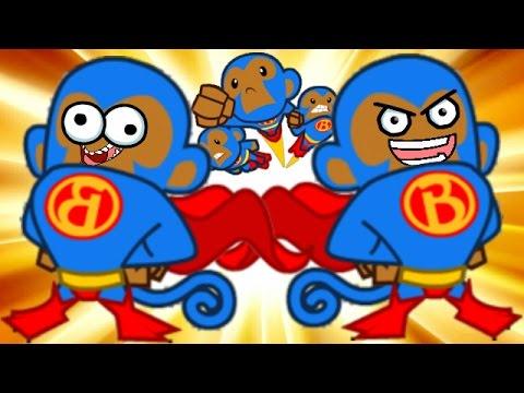 Bloons TD Battles! - SUPER MONKEY TIME! - Bloons Tower Defense Online