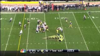 Ezekiel Ansah vs Notre Dame (2012)