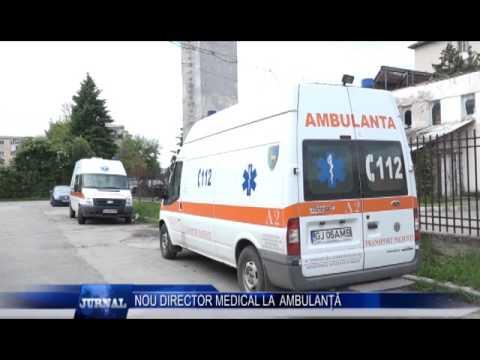 NOU DIRECTOR MEDICAL LA AMBULANȚĂ