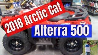 4. 2018 Arctic Cat Textron off road Alterra 500