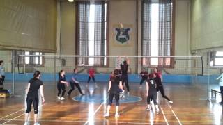 Szarvas Hungary  City pictures : Szarvas, Hungary - Female Volleyball Competition 2013 Continental Timisoara