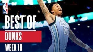 NBA's Best Dunks   Week 18 by NBA
