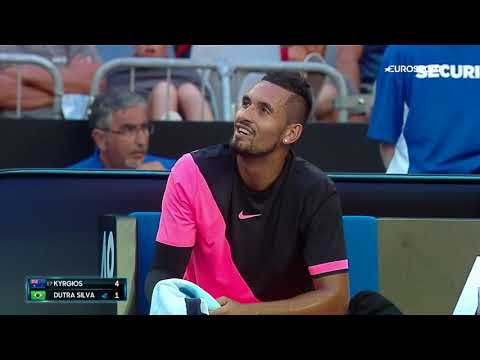 Nick Kyrgios Tells Fan To 'shut The Fuck Up'