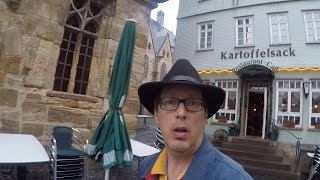 Alsfeld Germany  city images : Alsfeld Old Town Germany Travel Video Rainy Evening