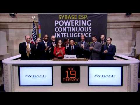 SybaseInc - Sybase, Inc., an SAP company (NYSE-Listed SAP) visits the NYSE to host the company's annual Analyst Day. In honor of the occasion, John Chen, Chairman and CE...