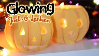 Jack O Lantern Pumpkins Tutorial : How To Make Salt Dough / Playdoh / Play Dough At Home!