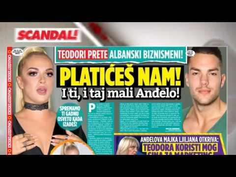 SCANDAL: Teodori zbog Anđela preti Albanska mafija! Kako su Jeleni Golubović oduzeli dete! Keba pod crnom magijom