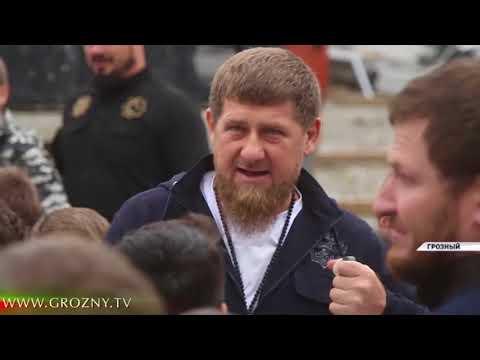 Рамзан Кадыров проинспектировал строящийся в Грозном Олимпийский центр дзюдо имени Владимира Путина - DomaVideo.Ru