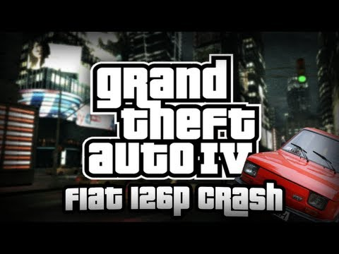 GTA IV: Fiat 126p Crash!