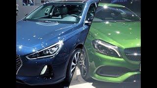 Mercedes Benz A Class vs Hyundai i30
